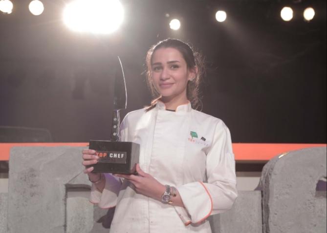 """صورة سما جاد أول فتاة تتوّج بلقب """"Top Chef"""" العالم العربي"""