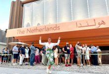 صورة لاروسي في الإكسبو 2020 دبي … تلتقي السفير الهولندي في الإمارات…