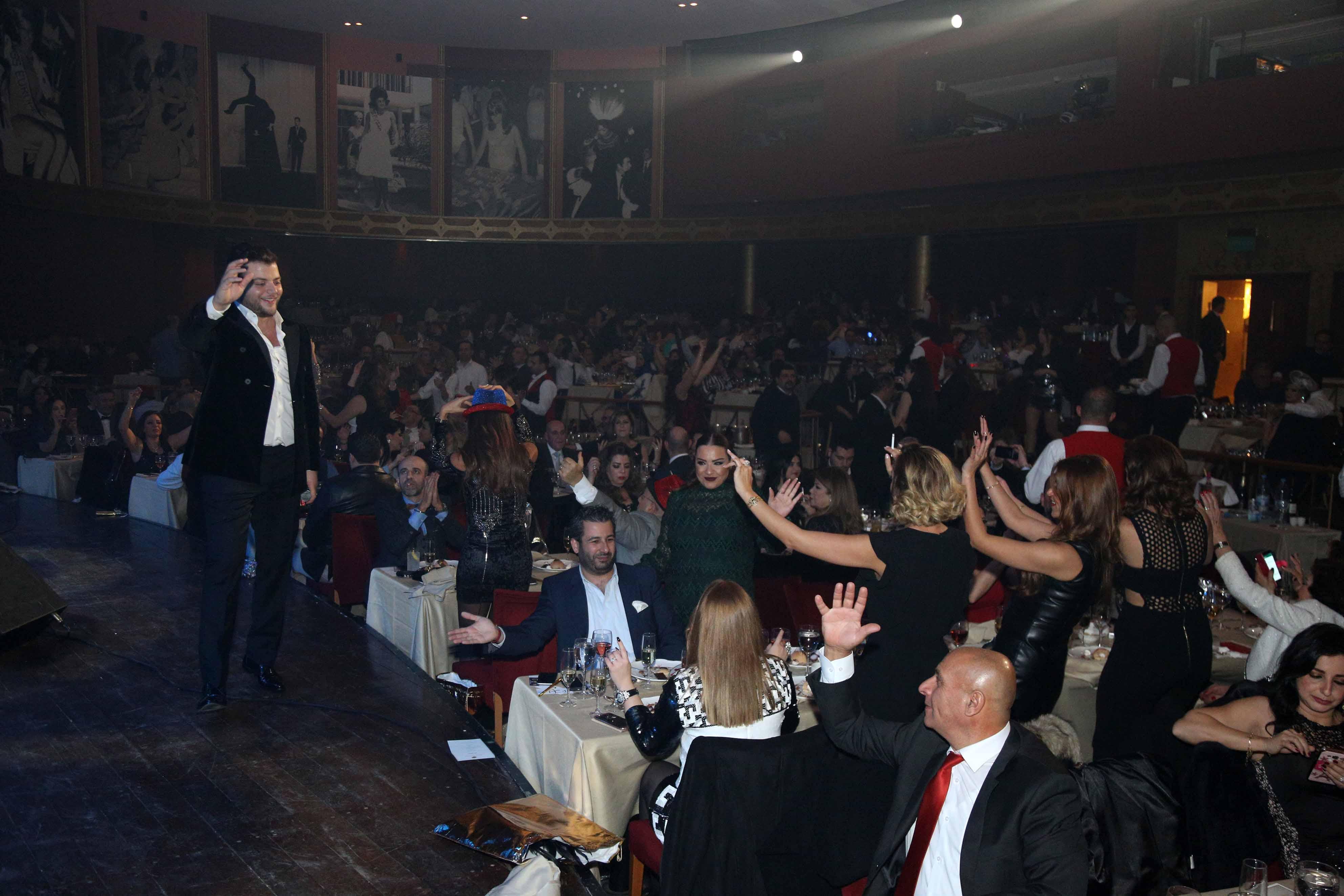 صورة النجم عامر زيان أحيى أقوى حفلات رأس السنة في كازينو لبنان